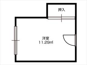 お部屋のタイプ: Cタイプ